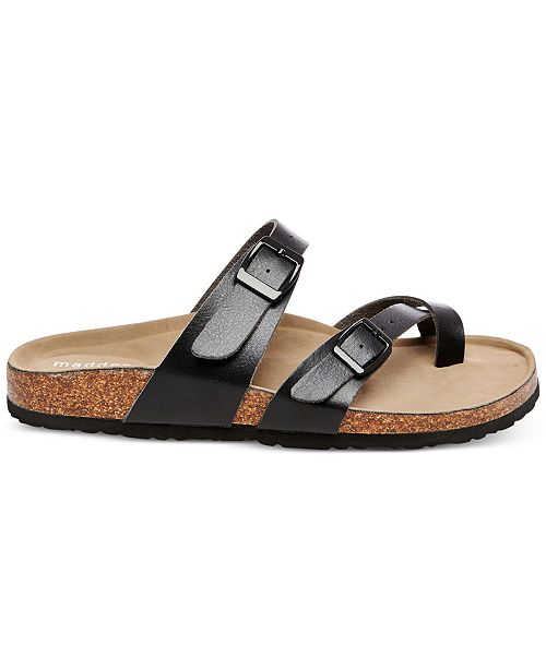 783594104660 Madden Girl Bryceee Footbed Sandals   Reviews - Sandals   Flip Flops ...