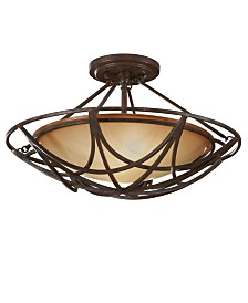 El Nido Collection Semi Flush Ceiling Fixture