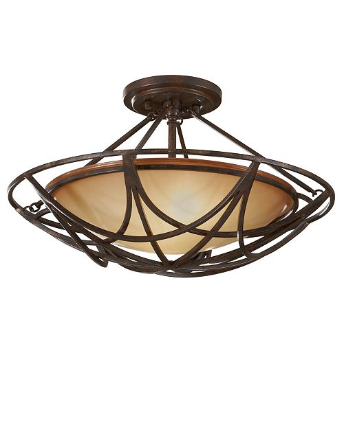 Feiss El Nido Collection Semi Flush Ceiling Fixture