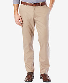 Dockers Men's Stretch Athletic-Fit Clean Khaki Pants