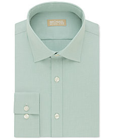 Michael Kors Men's Classic Fit Non-Iron Dress Shirt