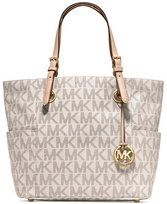 MICHAEL Michael Kors Signature Tote - Handbags & Accessories - Macy's