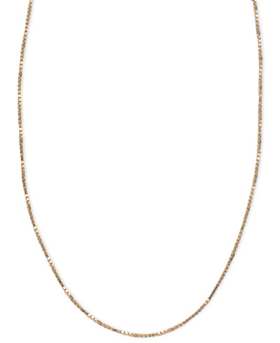14k Pink Gold Necklace, 16-20