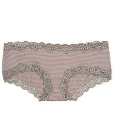 Maternity Lace-Trim Bikini Briefs