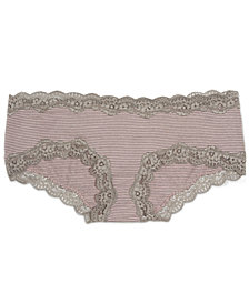 A Pea In The Pod Maternity Lace-Trim Bikini Briefs