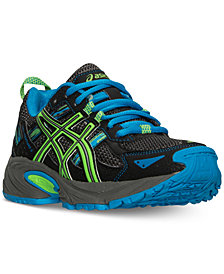 Aspics Big Boys' GEL-Venture 5 Trail Running Sneakers from Finish Line