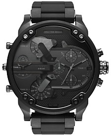 Diesel Men's Chronograph Mr. Daddy 2.0 Silicone Strap Watches
