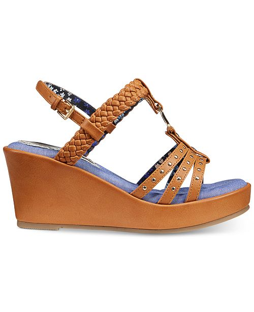 81d089e9780c73 ... Tommy Hilfiger Desiree Rope Wedge Sandals