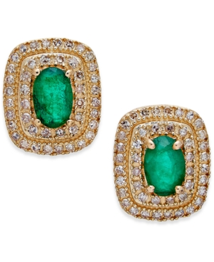 Emerald (3/4 ct. t.w.)...