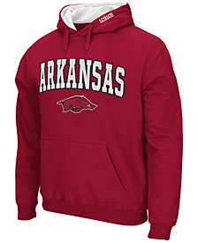 Colosseum Men's Arkansas Razorbacks Arch Logo Hoodie
