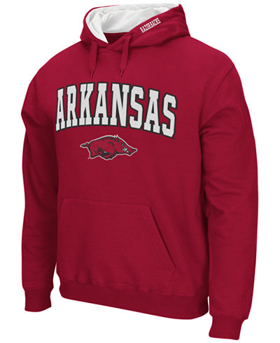 Colosseum Men's Arkansas Razorbacks Arch Logo Hoodie