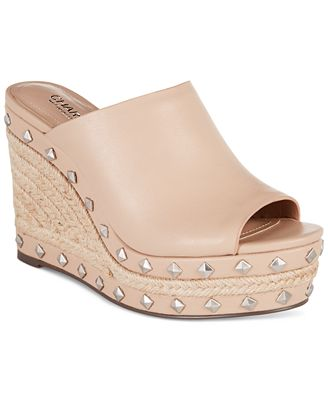 CHARLES by Charles David Lisbon Platform Wedge Sandals