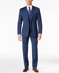 Michael Kors Suit - Mens Suits: Blue, Black, Gray - Mens Apparel ...