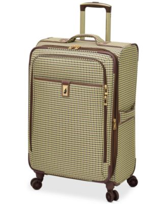 "Image of London Fog Oxford Hyperlight 25"" Expandable Spinner Suitcase, Only at Macy's"
