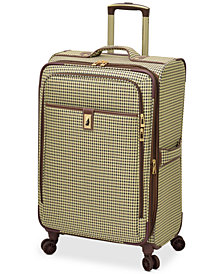 "CLOSEOUT! London Fog Oxford Hyperlight 25"" Expandable Spinner Suitcase, Created for Macy's"