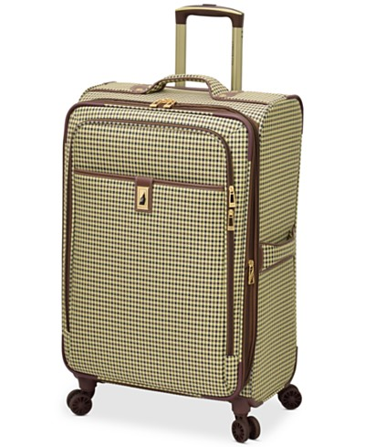 London Fog Oxford Hyperlight 25 Expandable Spinner Suitcase, Created for Macy's