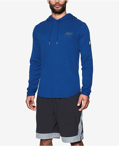 quality design fb309 99656 Under Armour Men's Stephen Curry Thermal Hoodie & Reviews ...