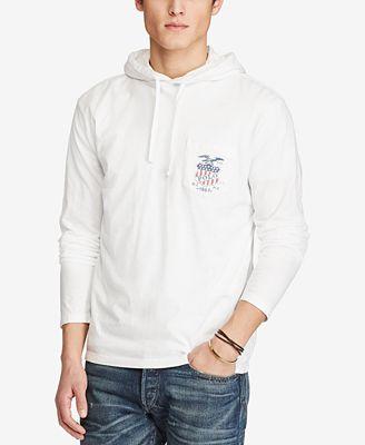 Polo Ralph Lauren Men's Hooded Long-Sleeve T-Shirt - T-Shirts ...