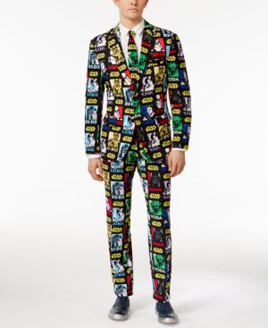 OppoSuits Strong Force Slim-Fit Suit and Tie thumbnail