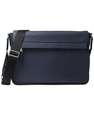 e17b5c4884c9 Michael Kors Men's Odin Resina Large Messenger Bag & Reviews - Bags &  Backpacks - Men - Macy's