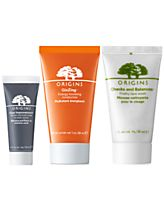 Receive a free 3-piece bonus gift with your $55 Origins purchase