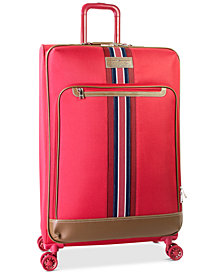"Tommy Hilfiger Freeport 28"" Expandable Spinner Suitcase, Created for Macy's"