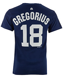 Majestic Men's Didi Gregorius New York Yankees Official Player T-Shirt