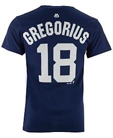 Majestic Men's Didi Gregorius New York Yankees Official Player T-Shirt