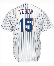 Majestic Kids' Tim Tebow New York Mets Player Replica CB Jersey