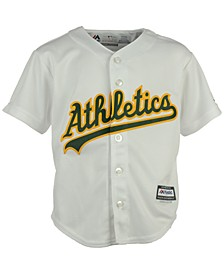 Toddlers' Oakland Athletics Blank Replica CB Jersey