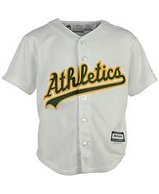 Majestic Toddlers' Oakland Athletics Blank Replica CB Jersey