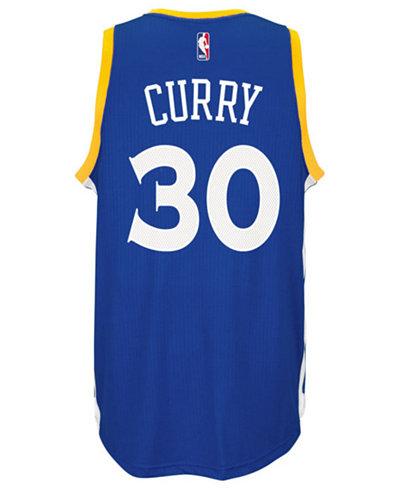 adidas Men's Stephen Curry Golden State Warriors New Swingman Jersey