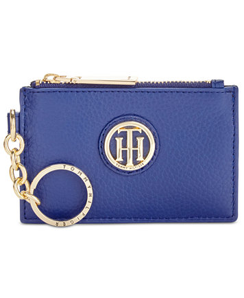 Tommy Hilfiger Bags Signature Coin Wristlet Black - Wallets & Accessories