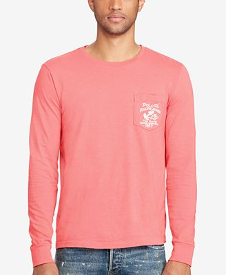 Polo Ralph Lauren Men's Custom-Fit Cotton T-Shirt