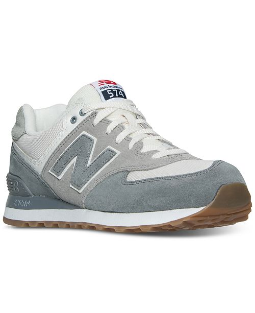 2a147ffeab607 ... New Balance Men's 574 Retro Sport Casual Sneakers from Finish ...