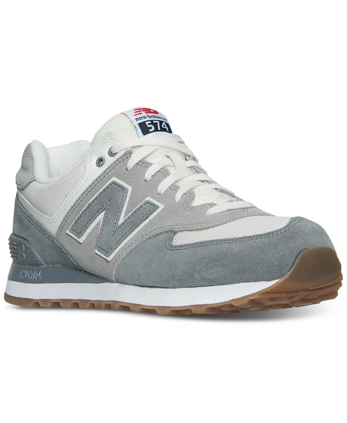 New Balance Men's 574 Retro Sport Casual Sneakers from Finish Line ...