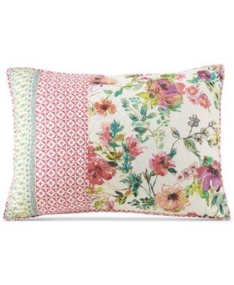 Boho Garden Cotton Quilted Standard Sham
