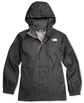 The North Face Resolve Hooded Reflective Windbreaker Jacket, Little Boys & Big Boys