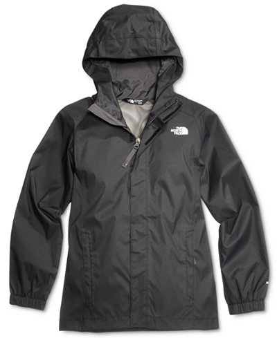 The North Face Resolve Hooded Reflective Windbreaker Jacket ...
