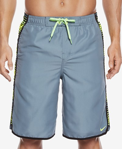 Nike Men's Swift Splice Volley Swim Trunks, 11