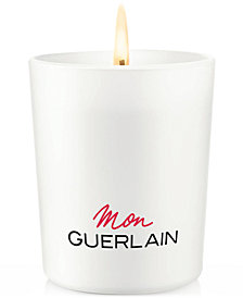 Receive a Complimentary Candle with any large spray purchase from the Mon Guerlain fragrance collection