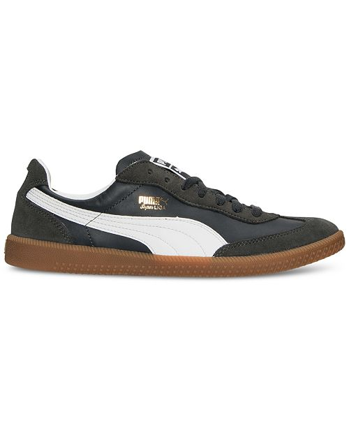 4a2de9504f1 Puma Men s Super Liga OG Retro Casual Sneakers from Finish Line ...