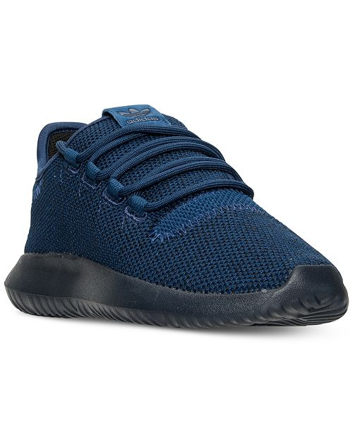 new concept 00b08 380b9 adidas Big Boys' Tubular Shadow Knit Casual Sneakers from ...