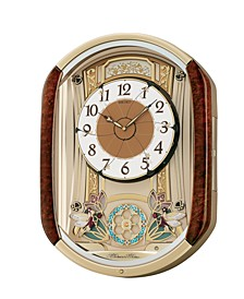 Wood Melodies in Motion Wall Clock QXM275BRH
