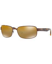 Ray-Ban Polarized Chromance Collection Sunglasses, RB3566CH 65