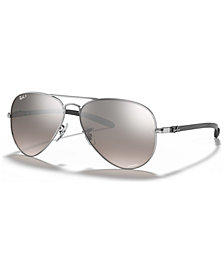 Ray-Ban Polarized Chromance Collection Sunglasses, RB8317CH 58