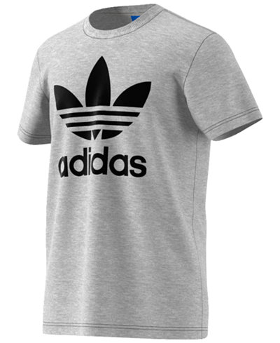 Adidas men 39 s originals trefoil t shirt t shirts men for Adidas lotus t shirt