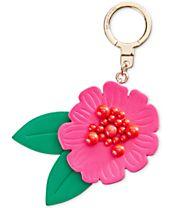 kate spade new york Majorelle Flower Keychain
