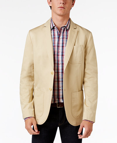 Tommy Hilfiger Men's Carolina Cotton Sport Coat - Blazers & Sport ...