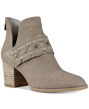 Nine West Danbia Block-Heel Booties Women